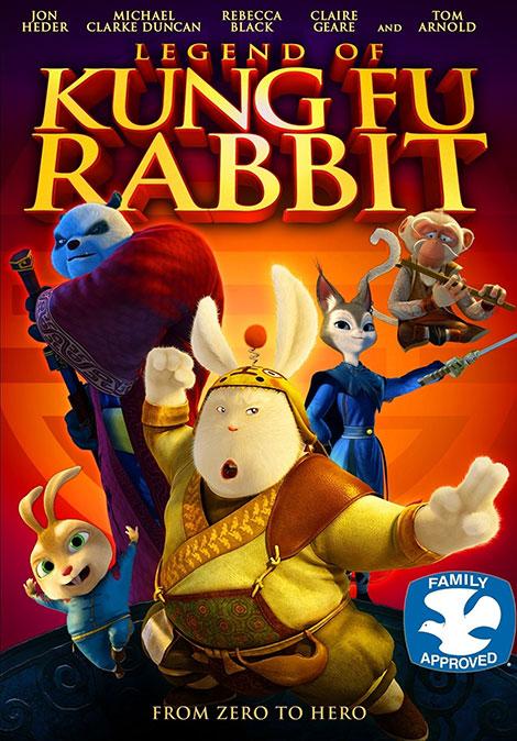 دانلود دوبله فارسی انیمیشن Legend of Kung Fu Rabbit 2011