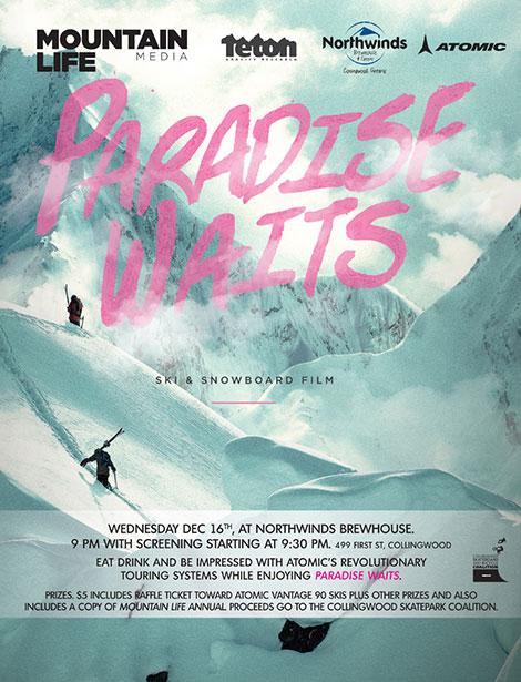 دانلود دوبله فارسی مستند Paradise Waits 2015