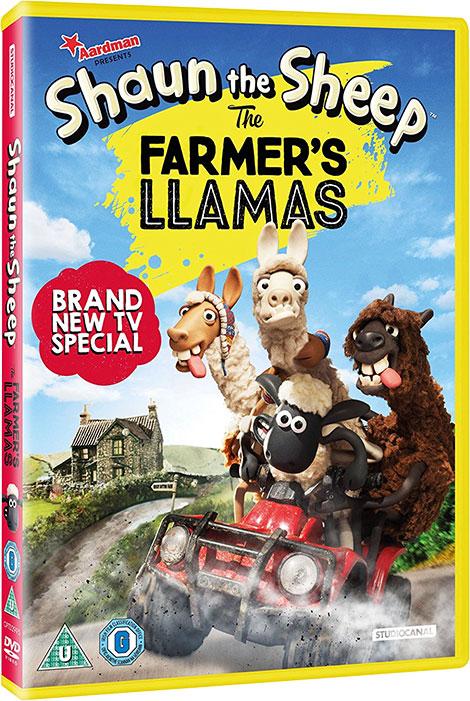 دانلود انیمیشن Shaun The Sheep: The Farmer's Llamas 2015