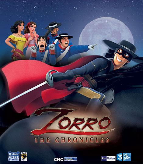 دانلود انیمیشن سریالی زورو Zorro the Chronicles 2017
