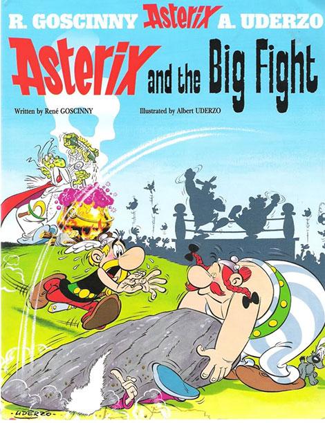 دانلود انیمیشن Asterix and the Big Fight 1989