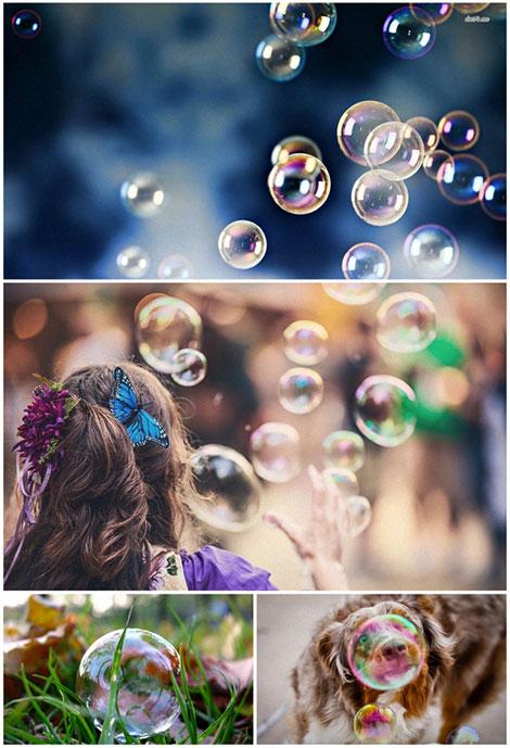 دانلود والپیپر حباب Bubble Wallpaper