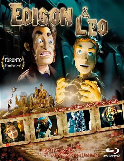 دانلود انیمیشن ادیسون و لئو Edison and Leo 2008