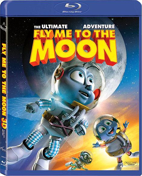 دانلود دوبله فارسی انیمیشن Fly Me to the Moon 2008