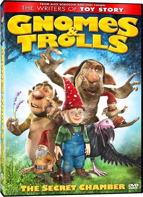 دانلود دوبله فارسی انیمیشن Gnomes & Trolls: The Secret Chamber 2008