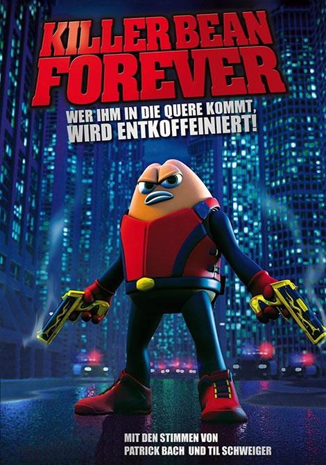 دانلود دوبله فارسی انیمیشن Killer Bean Forever 2009